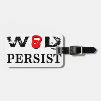 WOD Persist Bag Tag