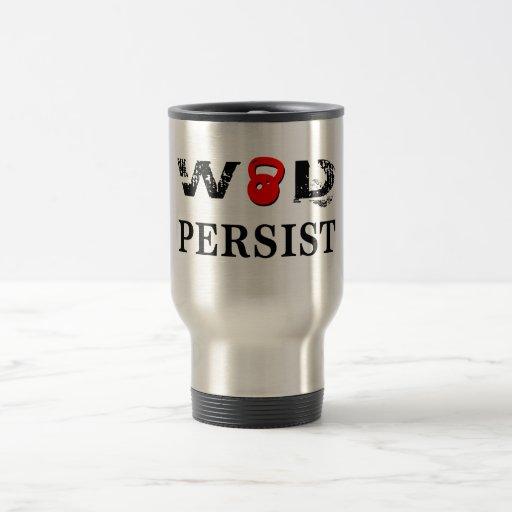 WOD persisten Taza De Café