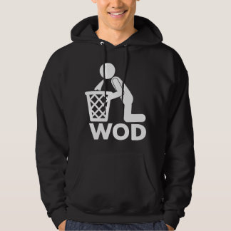 WOD - Puke Workout Hoodie