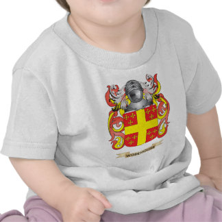 Wodehouse Family Crest (Coat of Arms) T Shirts