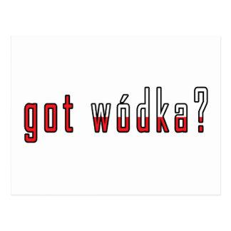 ¿wodka conseguido? Bandera Postales