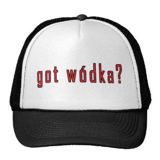 ¿wodka conseguido? gorro de camionero