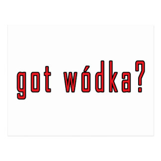 ¿wodka conseguido? tarjetas postales
