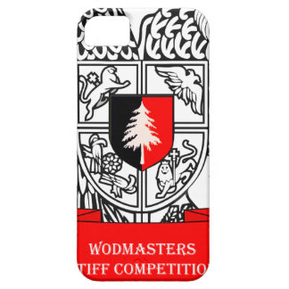 WODMasters Stiff Competition Coat of Arms iPhone 5 Cover