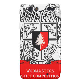 WODMasters Stiff Competition Coat of Arms Droid RAZR Case