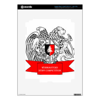 WODMasters Stiff Competition Coat of Arms Decals For iPad 3