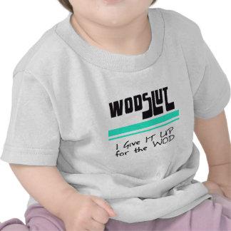 WODSLUT crossfit T Shirt