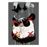 """Woebots """"panda """" tarjeta"""
