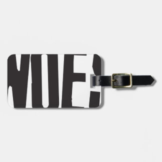Woes Luggage Tag