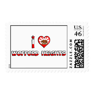 Wofford Heights CA Stamps