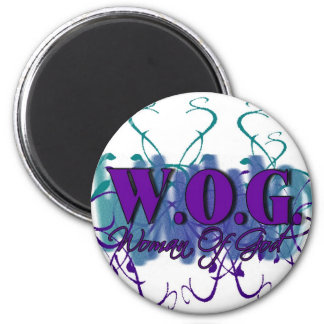 WOG- Woman of God Refrigerator Magnets