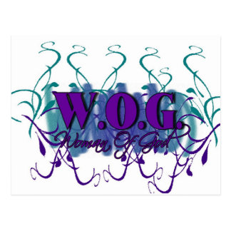 WOG- Woman of God Postcard