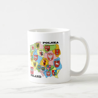 Wojewodztwa Polski_mapa Coffee Mug