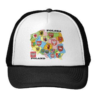Wojewodztwa Polski_mapa Trucker Hats