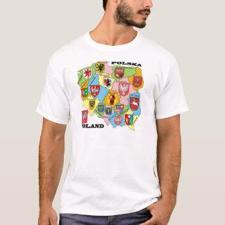 Wojewodztwa Polski_mapa T-Shirt