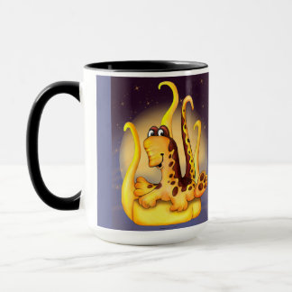 WOK ALIEN MONSTER CARTOON Combo Mug