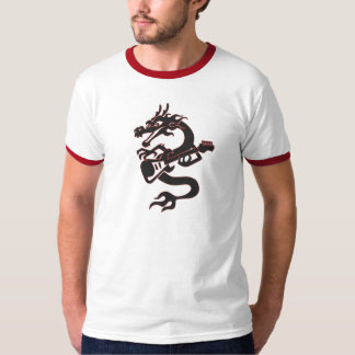 Wok And Roll Dragon T-Shirt