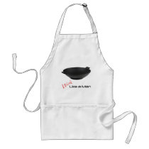 Wok Like a Man Adult Apron