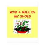 wok postcards