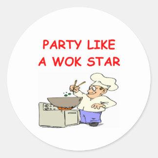wok star sticker
