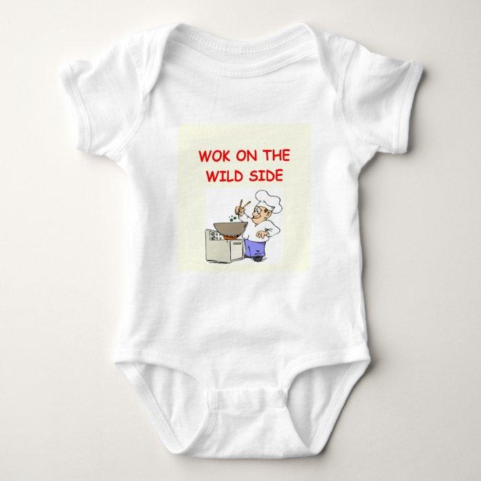 wokking baby bodysuit