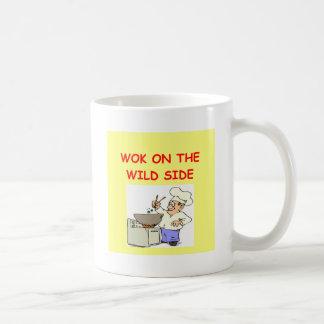 wokking coffee mug