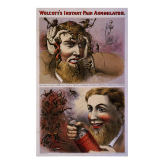 Wolcott s instant pain annihilator posters