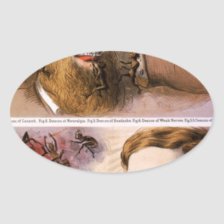 Wolcott's Instant Pain Annihilator Oval Sticker