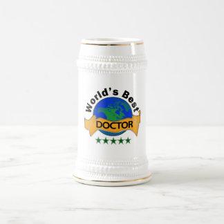 Wold's Best Doctor 18 Oz Beer Stein