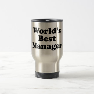 Wold's Best Manager Travel Mug
