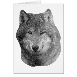 Wolf2 - Stylized Image Card