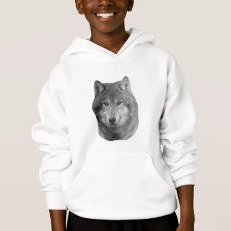 Wolf2 - Stylized Image Hoodie