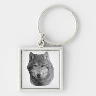 Wolf2 - Stylized Image Keychain
