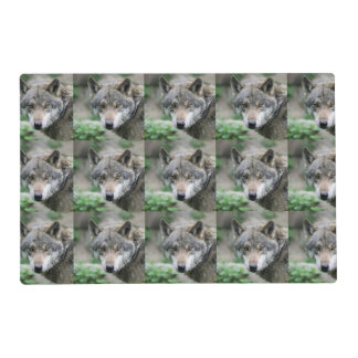 Wolf_011 Laminated Place Mat