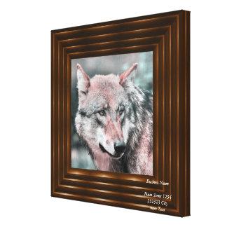 wolf 1115 canvas print