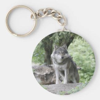 Wolf 14AJ Keychain