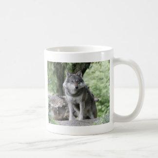 Wolf 14AJ Classic White Coffee Mug