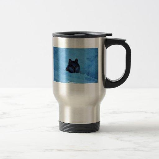 Wolf 15 Oz Stainless Steel Travel Mug