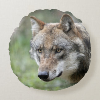 Wolf_2015_0111 Cojín Redondo