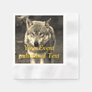 Wolf 215 paper napkin