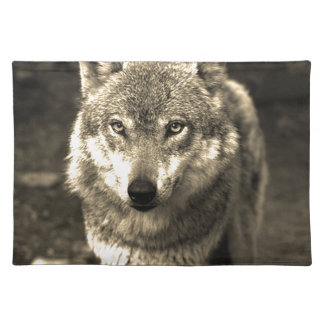 Wolf 215 cloth placemat