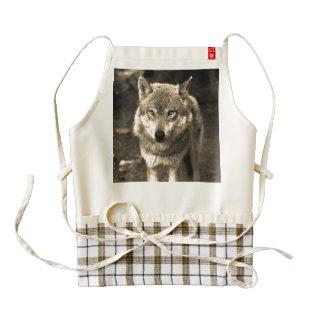 Wolf 215 zazzle HEART apron