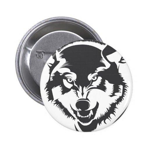 Head of Wolf gefunden auf Zazzle.de