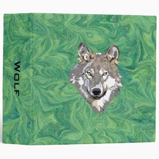wolf 3 ring binder