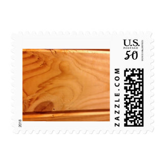 Wolf and Bird in wood Postage