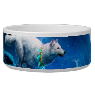 Wolf and Moon Bowl