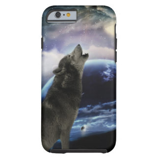 wolf and moon iPhone 6 case