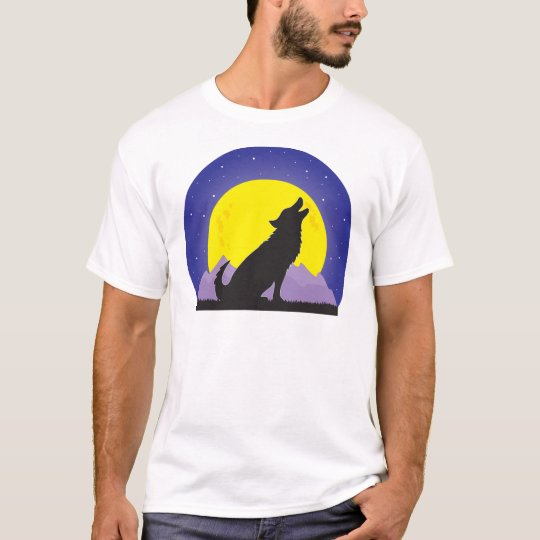 Wolf and Moon T-Shirt