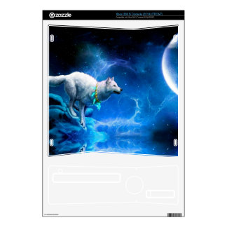 Wolf and Moon Xbox 360 S Decals