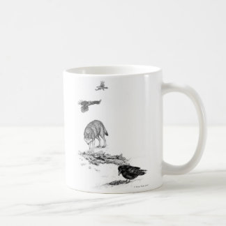 Wolf and Ravens Mug